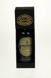 "84. Springbank ""15"" Campbeltown Scotch Whisky"
