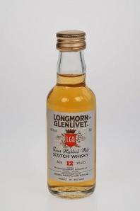 "66. Longmorn Glenlivet ""12"" Finest Highland Malt Scotch Whisky"