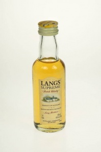 150. Langs Supreme Scotch Whisky